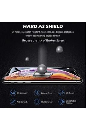 ucuzmi Iphone 11 Tam Kaplayan Ekran Koruyucu - 5d Darbe Emici Temperli Kırılmaz Cam - Siyah 2