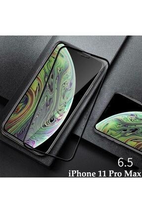 ucuzmi Iphone 11 Tam Kaplayan Ekran Koruyucu - 5d Darbe Emici Temperli Kırılmaz Cam - Siyah 4