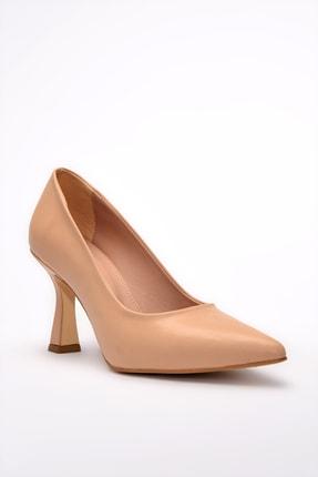 Yaya by Hotiç Nude Kadın Klasik Topuklu Ayakkabı 01AYY197680A330 2