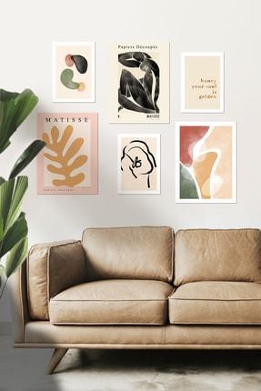 DUWART Premium Çerçevesiz Poster |fall Colors 6'lı Poster Set |21x30 Ve 30x40 Cm |iskandinav Poster 0