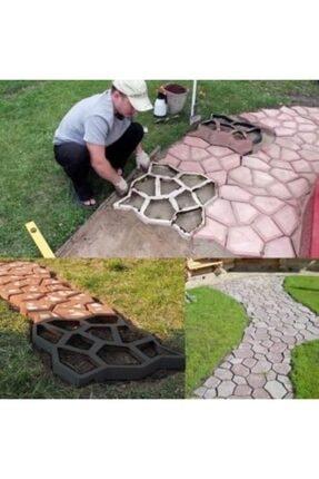 Sun Pigments Taşyapan -ağ-2 Bahçe Zemin Kaplama Taş Kalıbı (1 Adet) 2
