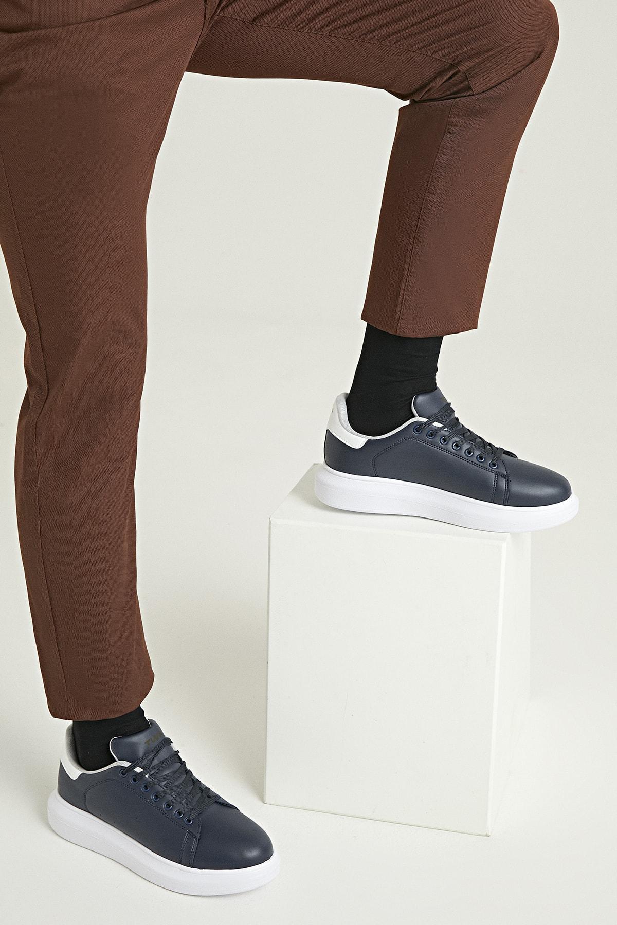 Erkek Ayakkabı Lacivert Renk