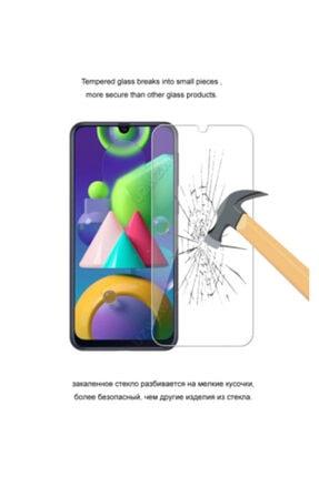 Zore Samsung Galaxy M31 Temperli Kırılmaz Cam Ekran Koruyucu Film 3
