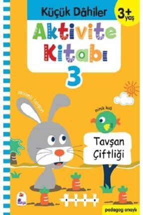 İndigo Kitap Küçük Dahiler Aktivite Kitabı 3 - 3+ Yaş 0