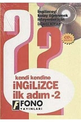 Fono Yayınları Kendi Kendine Ingilizce Ilk Adım-2 (2 Cd'li) 0
