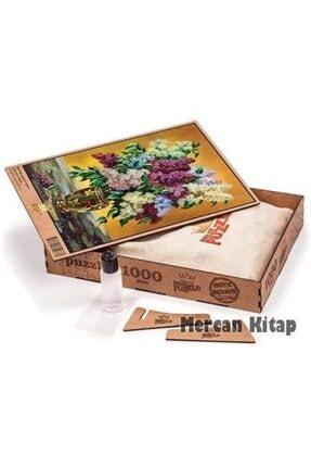 King Of Puzzle Leylaklar Vazosu Ahşap Puzzle 1000 Parça (nt11-m) 2