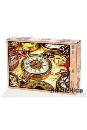King Of Puzzle Köstekli Saatler Ahşap Puzzle 2000 Parça (hr51-mm) 0