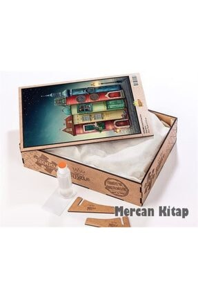 King Of Puzzle Fantastik Kitap Evler Ahşap Puzzle 2000 Parça (kt50-mm) 2