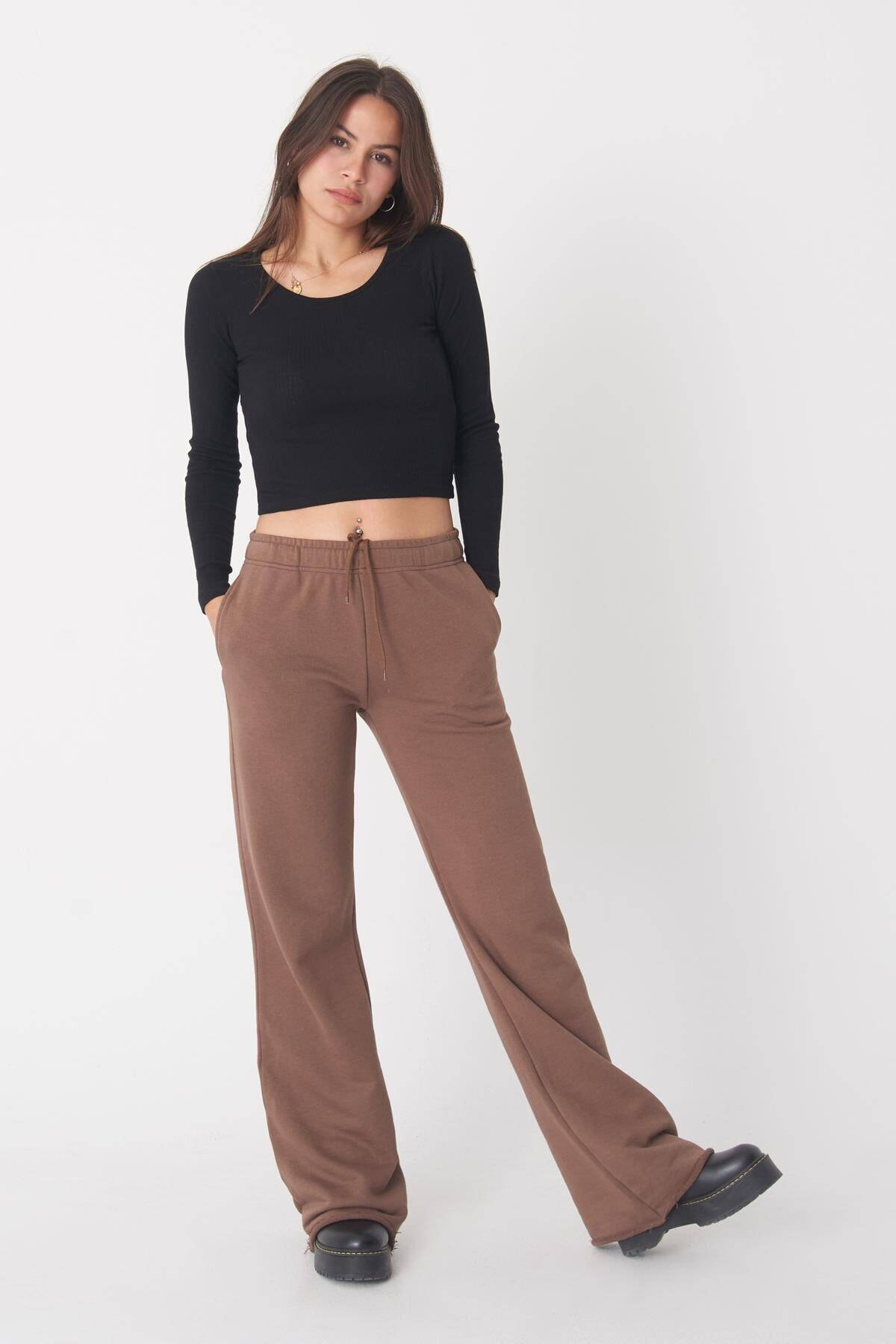 Addax Kadın Siyah Uzun Kollu Bluz B1069 - W12 Adx-0000023026 2