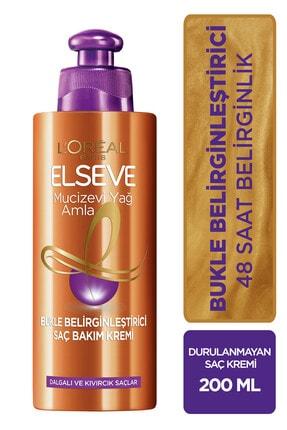 Elseve L'oréal Paris Amla Bukle Belirginleştirici Saç Bakım Kremi 0