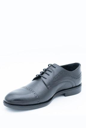 İgs Erkek Siyah Klasik Ayakkabı 197057-2 3