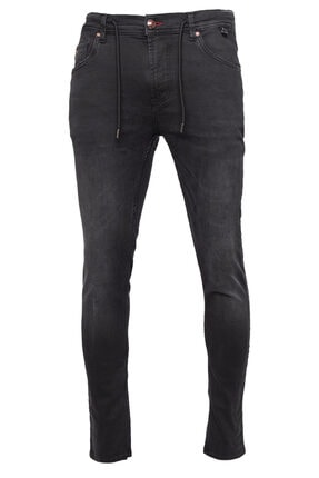 cortigiano in Bottega Erkek Gri Denım Pantolon 0