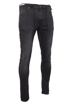 cortigiano in Bottega Erkek Gri Denım Pantolon 1