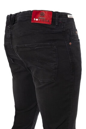 cortigiano in Bottega Erkek Gri Denım Pantolon 3