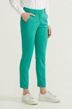 adL Kadın Yeşil Cepli Pantolon 2