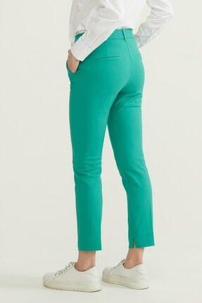 adL Kadın Yeşil Cepli Pantolon 3