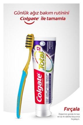 Colgate Ağız Bakım Paketi Total Profesyonel Beyazlık Beyazlatıcı Diş Macunu,Yumuşak Diş Fırçası ve Gargara 1