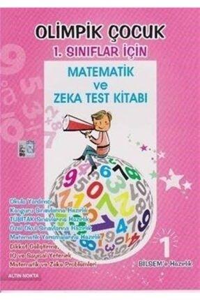 Altın Nokta Basım Yayın - Kaynak Kitaplar Olimpik Çocuk 1. Sınıflar Için Matematik Ve Zeka Test Kitabı 0