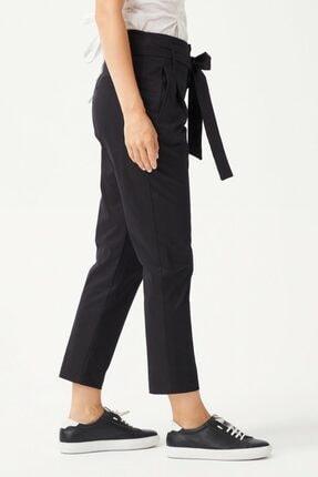 adL Kadın Siyah Düğmeli Pantolon 3
