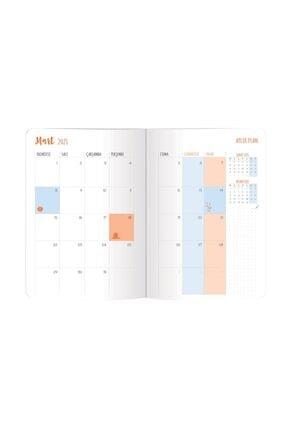 Le Color Akademik Ajanda 2021 80 gr 17x24 cm 3