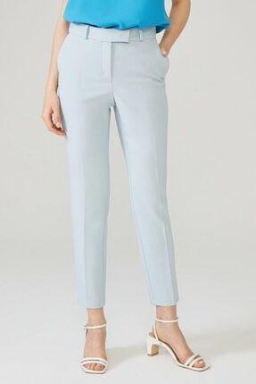 adL Kadın Mavi Arkası Lastikli Pantolon 2