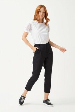 adL Kadın Siyah Pileli Pantolon 0