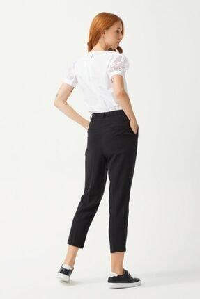 adL Kadın Siyah Pileli Pantolon 3