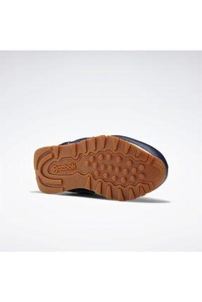 Reebok Çocuk Lacivert Classics Leather Günlük Spor Ayakkabı 4
