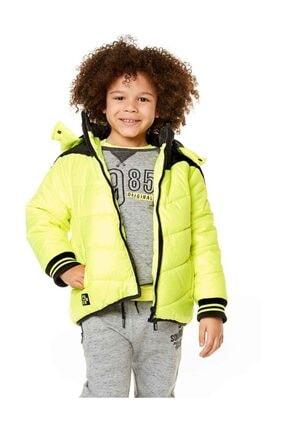 تصویر از Erkek Çocuk Yeşil Çocuk Mont