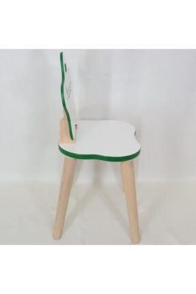 All dizayn Çocuk Masa Ve Sandalye Takımı, 1 Yuvarlak Masa - 2 Yıldız Sandalye 3