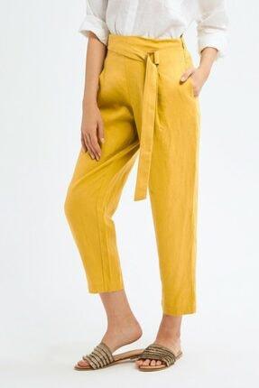 adL Kadın Lime Yüksek Bel Pantolon 3
