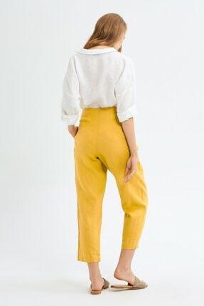 adL Kadın Lime Yüksek Bel Pantolon 4