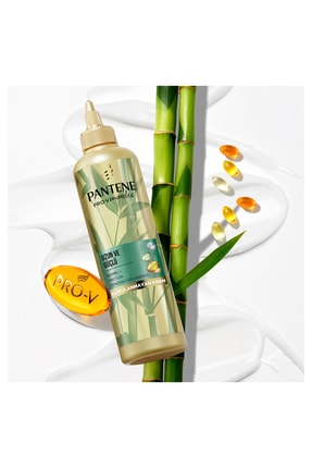 Pantene Bambu Ve Proteinli Uzun Ve Güçlü Şekillendirici Krem 270ml 2