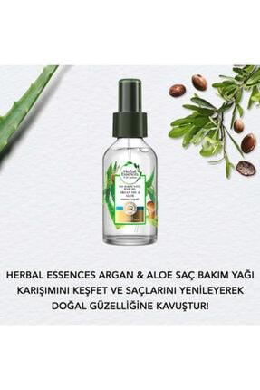 Herbal Essences Essence Argan Yağı Onarıcı Spreyli Saç Bakım Seti 4