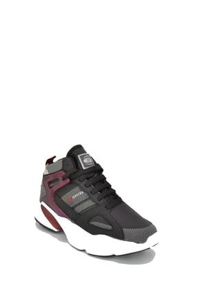 202-1401gr Unisex Basket Spor Ayakkabı Sıyah resmi