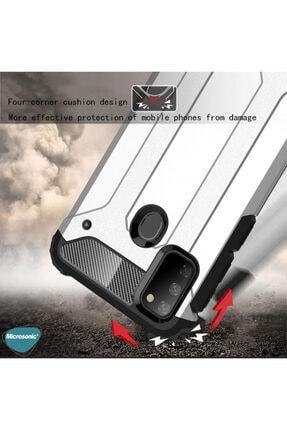 Microsonic Microsonic Galaxy M21 Kılıf Rugged Armor Siyah 3