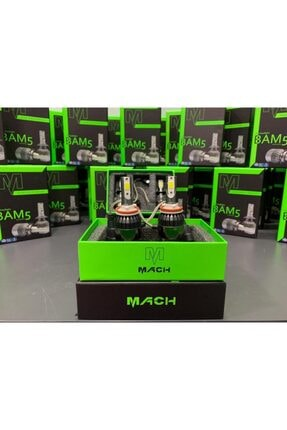 Mach Bam-5 Şimşek Etkili Profesyonel Led Xenon (6400lm) H1 4