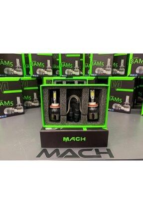 Mach Bam-5 Şimşek Etkili Profesyonel Led Xenon (6400lm) H4 2