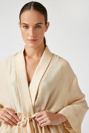 Koton Kadın Ekru Kimono&Kaftan 0YAK52508UW 1