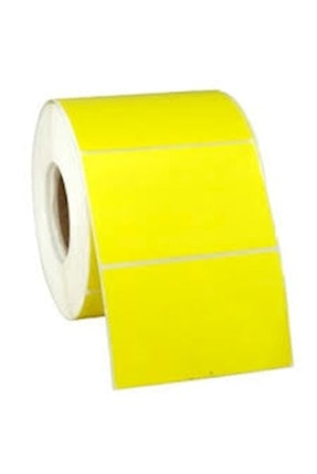 Elit Barkod Etiketi 40x60 Termal Sarı 1000 Li (eczane Ilaç Tarif Etiketi) 2