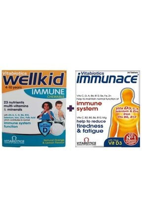 Immunace Immunace 30 Tablet Wellkid Immune Bağışıklık Paketi 0