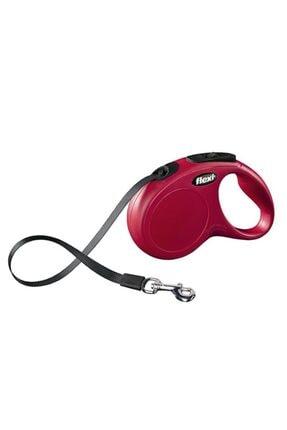 Flexi New Classic 5m Şerit Kırmızı Small 0