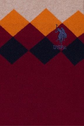 US Polo Assn Kirmizi Erkek Çocuk Triko Kazak 2