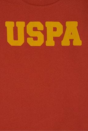 US Polo Assn Turuncu Erkek Çocuk Sweatshirt 2