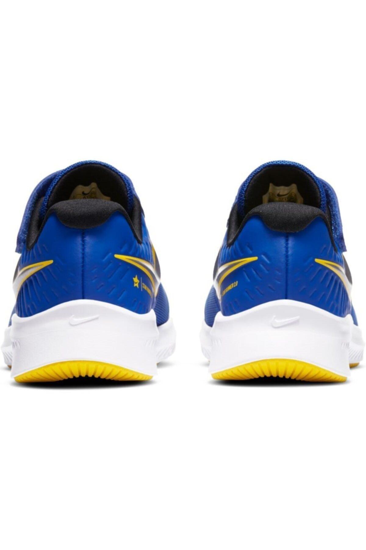 Nike Unisex Çocuk Lacivert Star Runner Ayakkabı 2