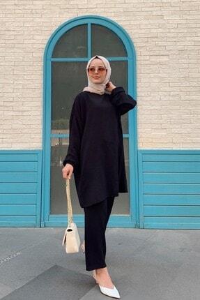 QASHA STORE Kadın Siyah Takım 1