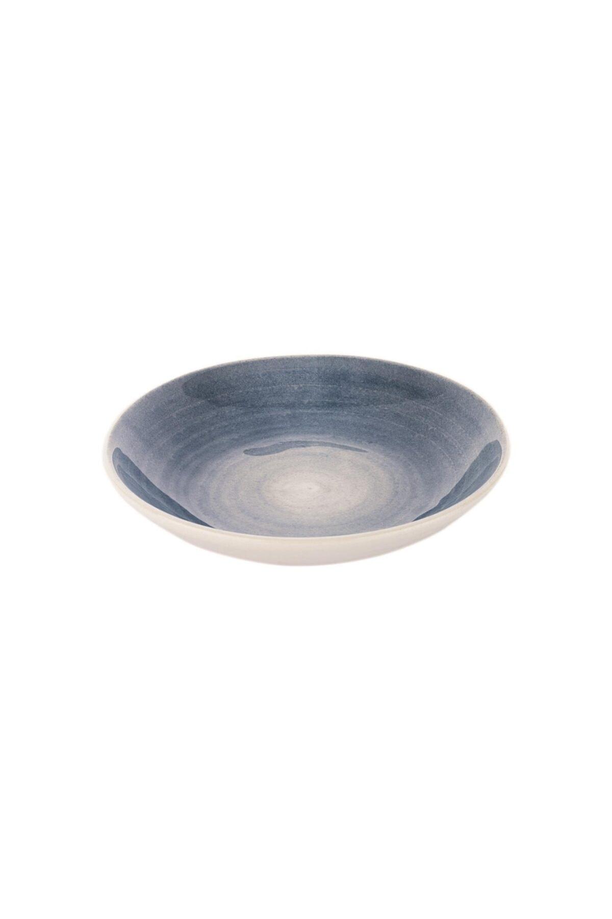 Wave Yemek Tabağı-ø22cm-1 Prç.-mavi