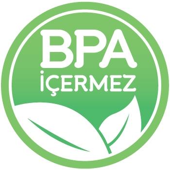 BPA İçermeyen Malzemeden Üretilmiştir