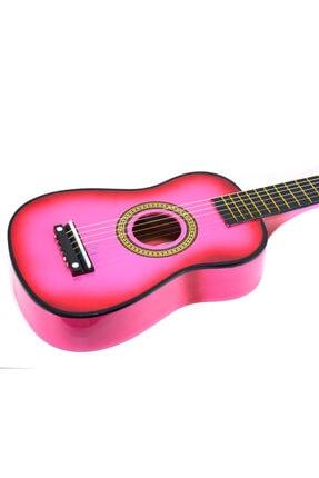 PM Pembe Çocuk Gitar 3-4 Yaş Için Kılıf Ve Pena Hediyeli 1