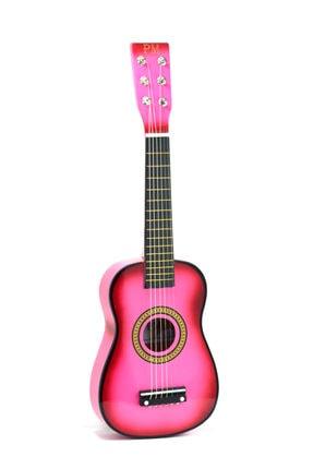 PM Pembe Çocuk Gitar 3-4 Yaş Için Kılıf Ve Pena Hediyeli 2